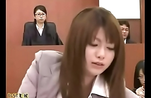 Invisible chap in asian courtroom - Title Please