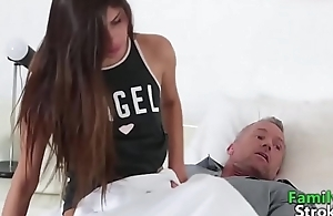 Supportive Daddy Whim Sex Daughter - FamilySTROKE.net HD Porn