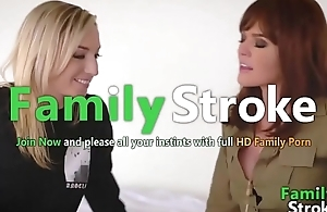 FamilySTROKE.net - Perfect MOM and Lesbian Step-Daughter