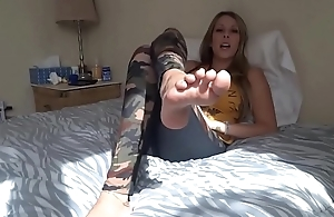 Foot Fetish Tease
