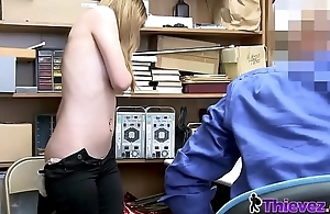 Rosalyn is stripped down and banged by horny officer