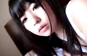 Cute japanese girl sucking a big dildo - https://asiansister.com/