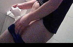 Spying my Freulein in the toilet 2