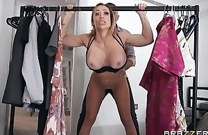 Dressing Room Poon - Chessie Kay - FULL SCENE on http://bit.ly/BraSex