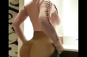 Sexy Girl Putting Her Pants On
