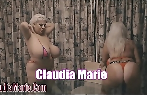 Claudia Marie Lesbian Sex With Kayla Kleevage