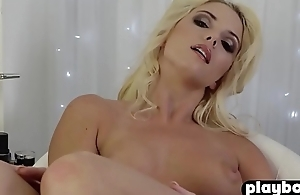 Hot busty model babes enjoyed playing in the bedroom