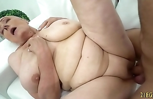 Granny Loves Enduring Cock in Her Mature Pussy