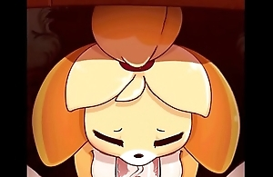 Animal Crossing Isabelle Sucking the Mayor'_s Hard Cock