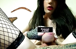 Analplay loving femboy enjoys masturbating
