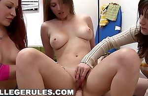 COLLEGE RULES - Crazy College Party With A Bunch Of Hot Teen Sluts