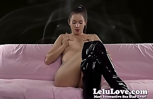 FemDom making you smoke as punishment plus funny blooper at the end
