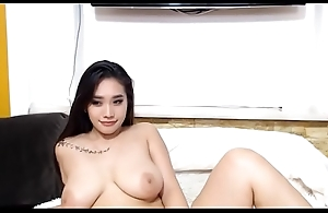 Hot Asian Cam-girl with Big Tits Cam-show