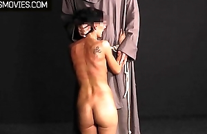 Good little conservative slut whipped and clamped