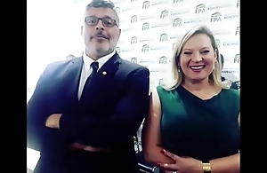 Alexandre Frontier e Joice Asselman secret party on a difficulty congresso