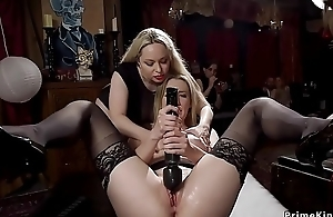 Hot babes fisting and gender bdsm orgy