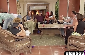 Open minded couple tried something new in a reality show