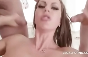 Rough Teen Anal Group Sex Compilation